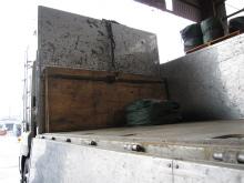 ダンプ床(鉄板張り1)